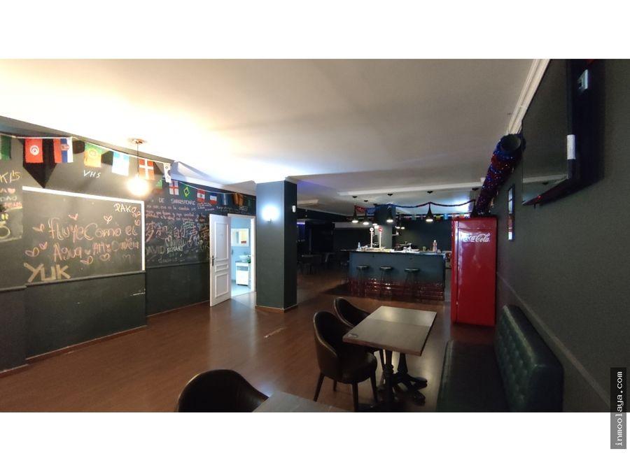 traspaso de sports bar billares en nou barris