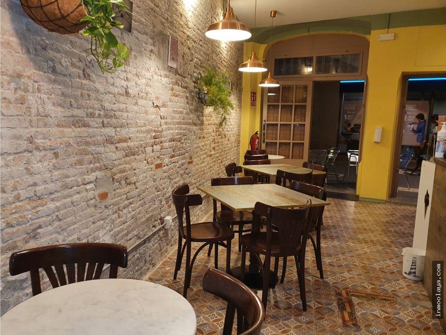 traspaso de bar cafeteriaheladeria en el prat