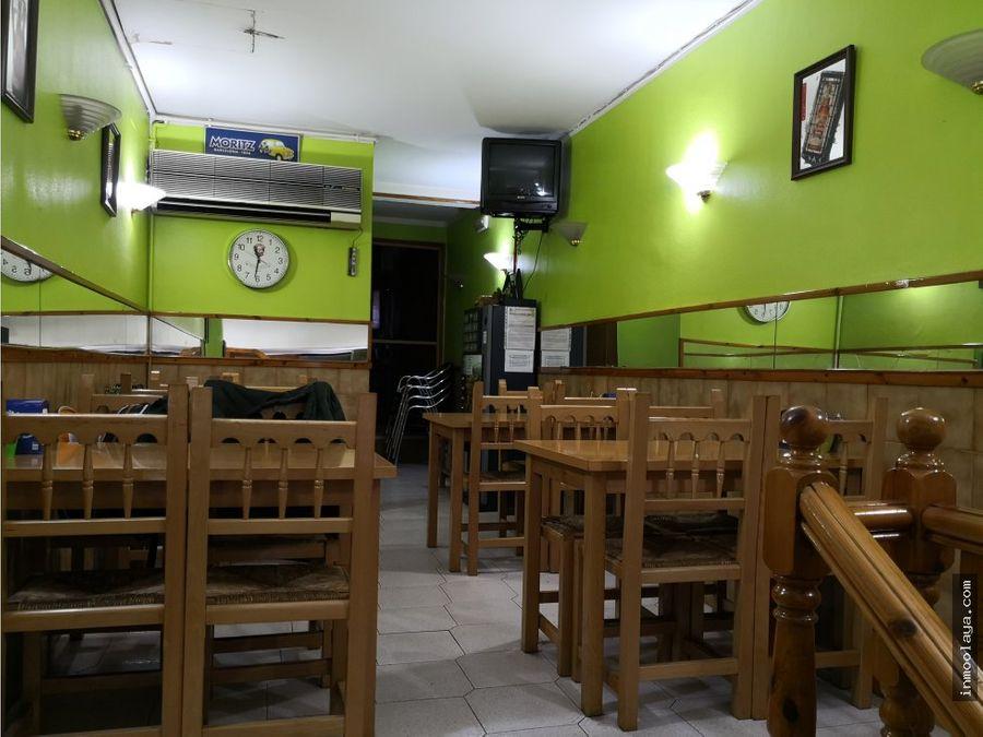 traspaso bar restaurante c3 en sagrada familia