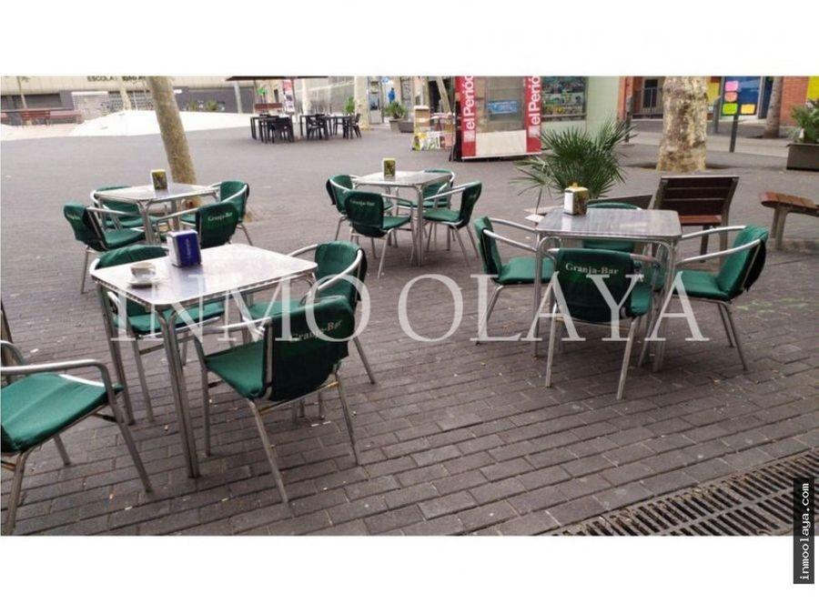 traspaso bar c1 con terraza nou barris