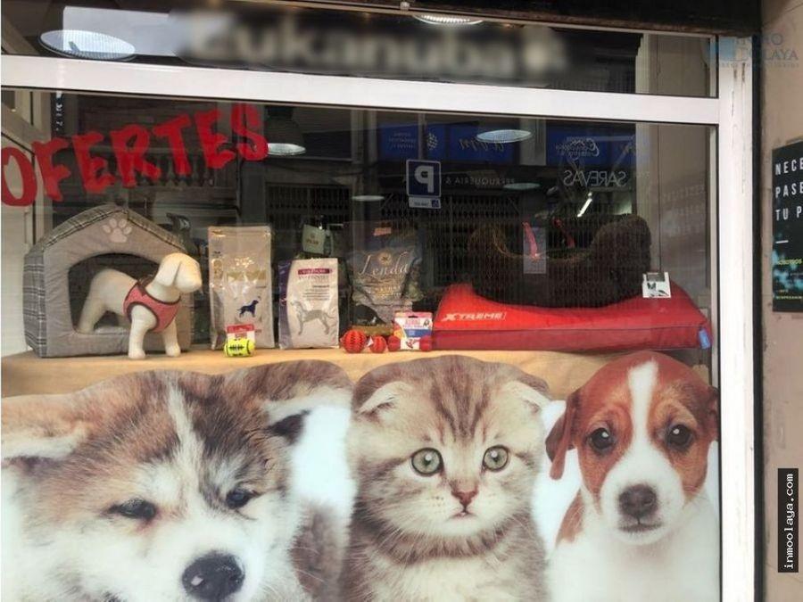 traspaso de tienda de mascota y peluqueria