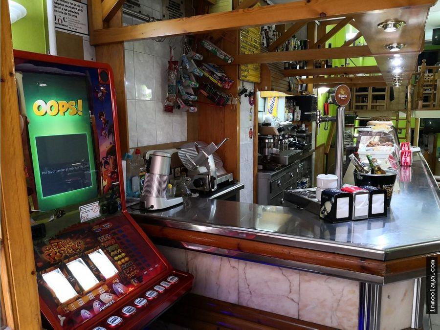 venta bar restaurante c3 en sagrada familia