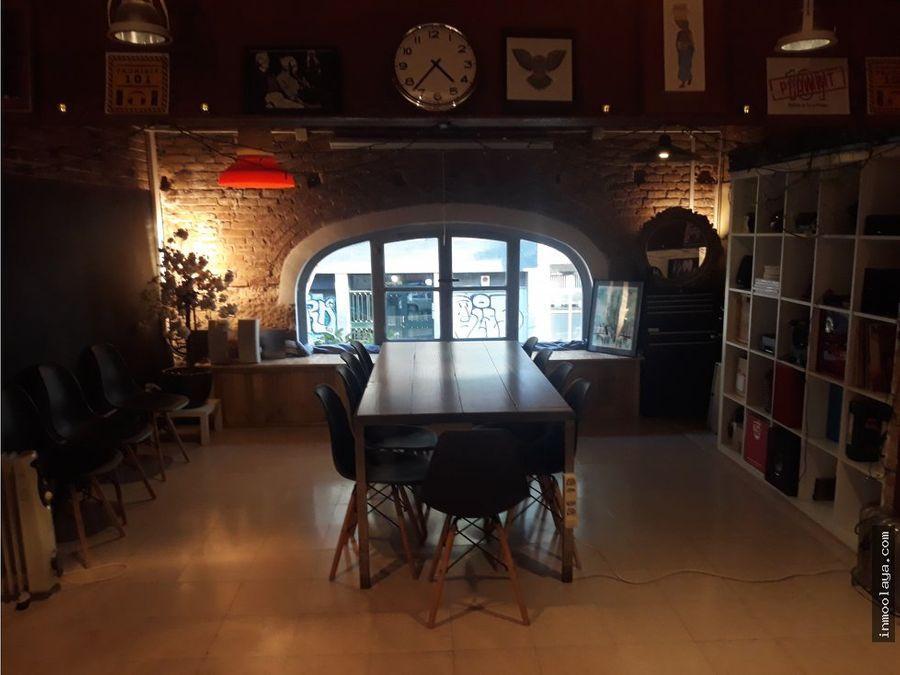 traspaso bar restaurante c3 en san antoni con loft y terraza