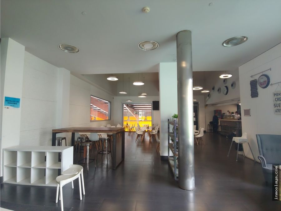 traspaso restaurante c3 en el centro deportivo de gracia