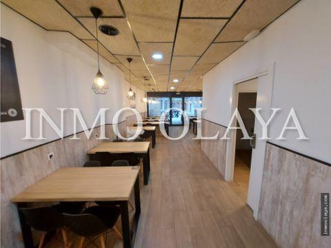 traspaso de pizzeria con licencia c2 y terraza en gava