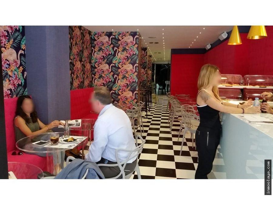 traspaso restaurante c3 en sant gervasi