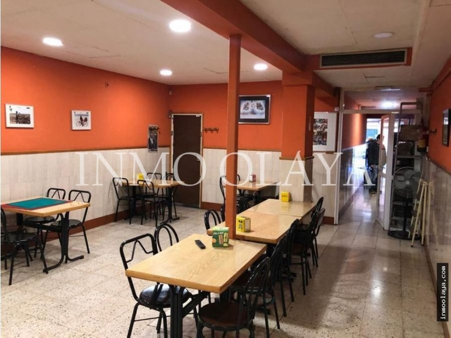 traspaso bar restaurante c3 mixto les corts