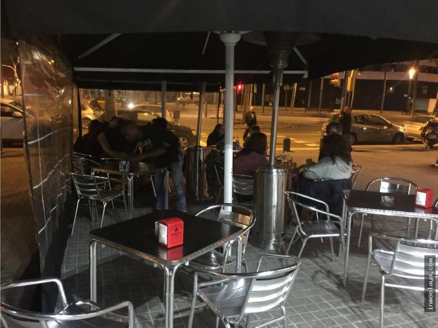 traspaso restaurante bar en poblenou