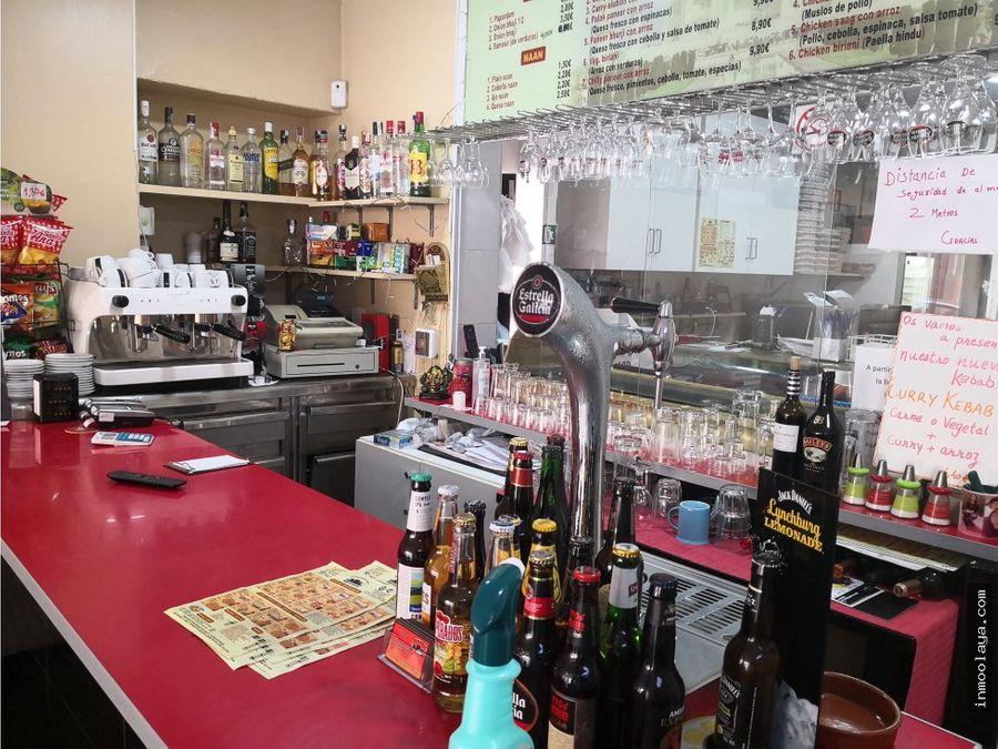 traspaso bar restaurante en centro badalona