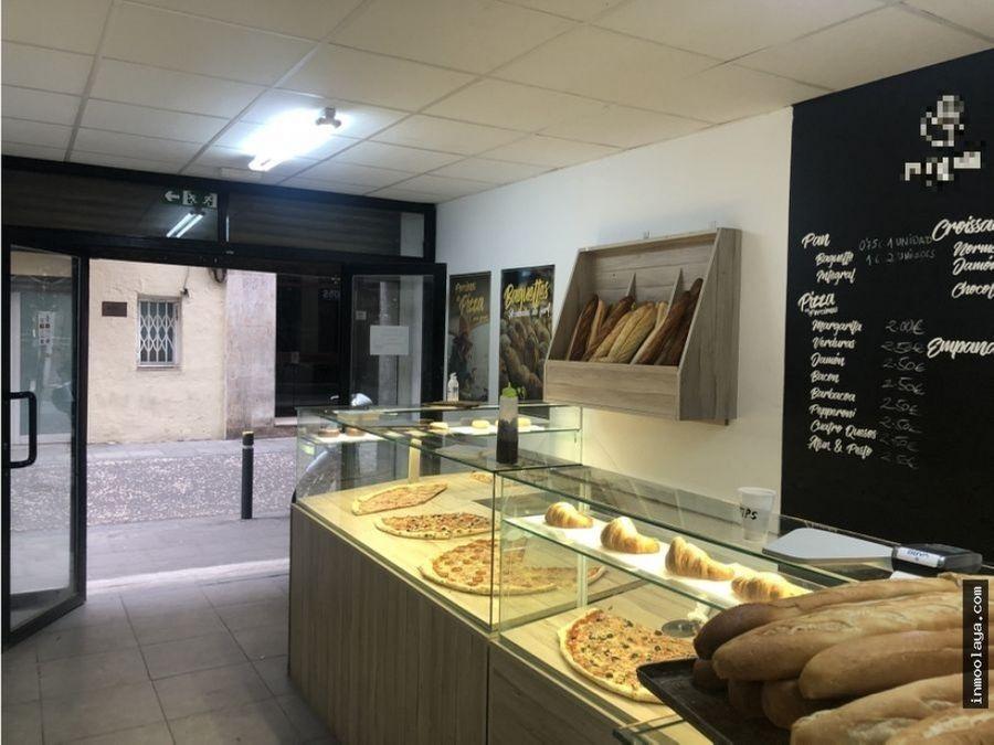 traspaso pizzeria take away con obrador a53 en gracia