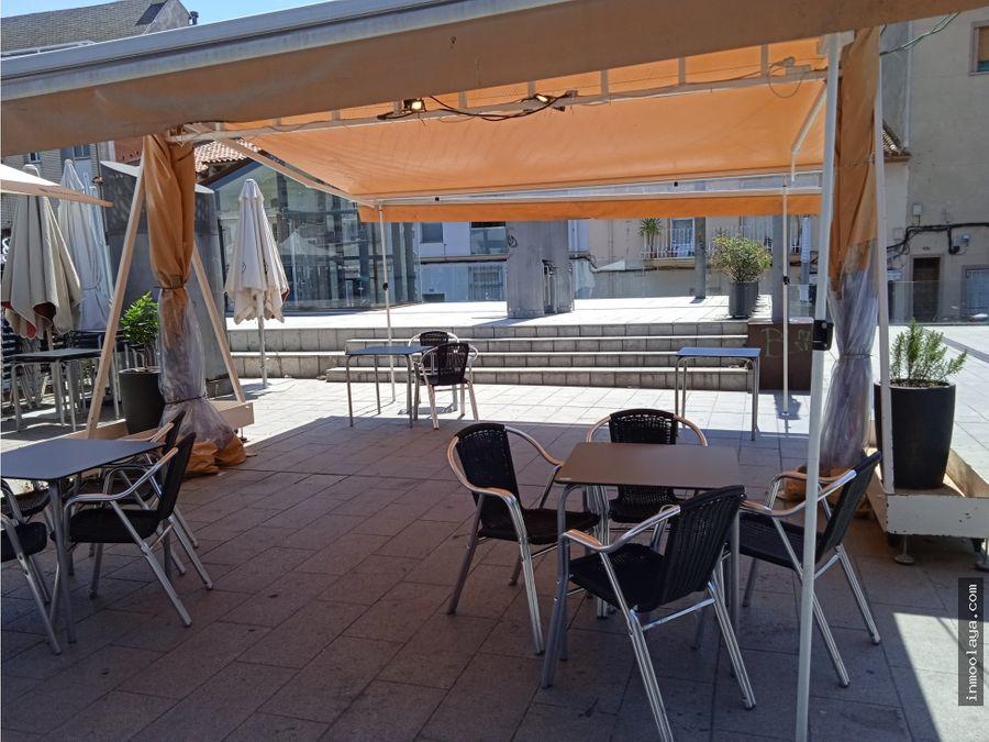 traspaso restaurante con terraza en ripollet