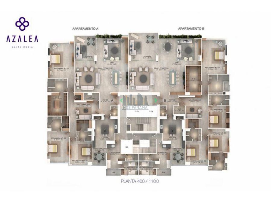 12m f ph azalea elegancia y modernismo