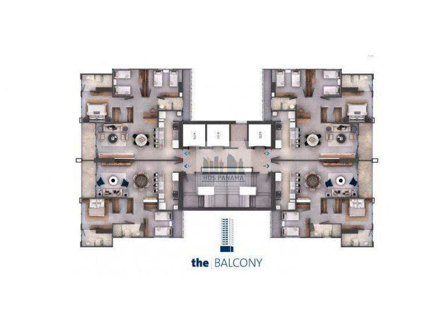 115k moderno y elegante apto ph the balcony