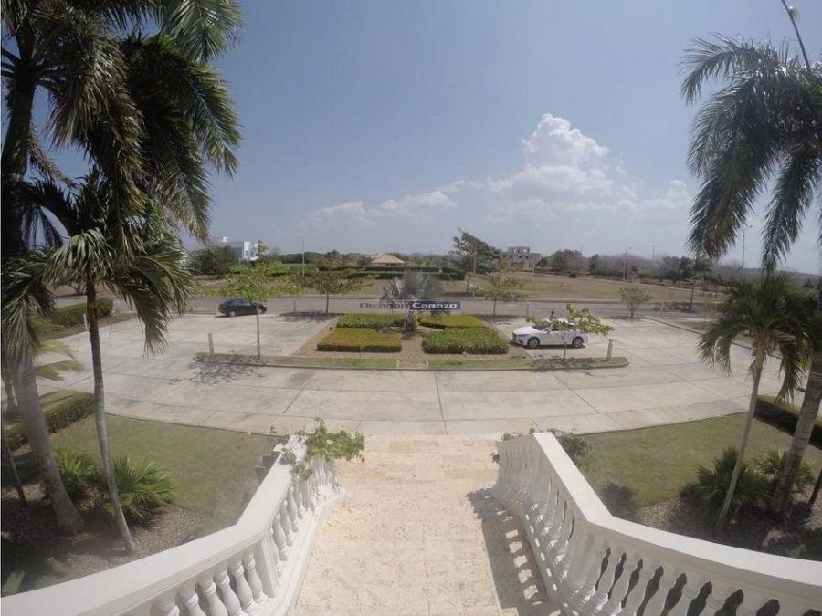 vendemos lote palma real con playa en cartagena