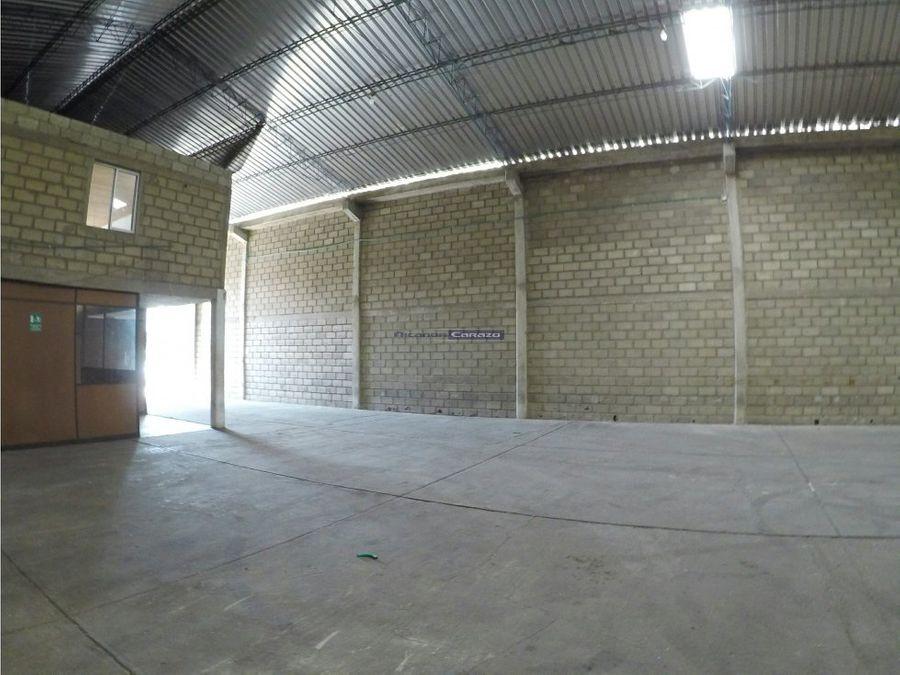 vendemos bodega industrial en ternera cartagena