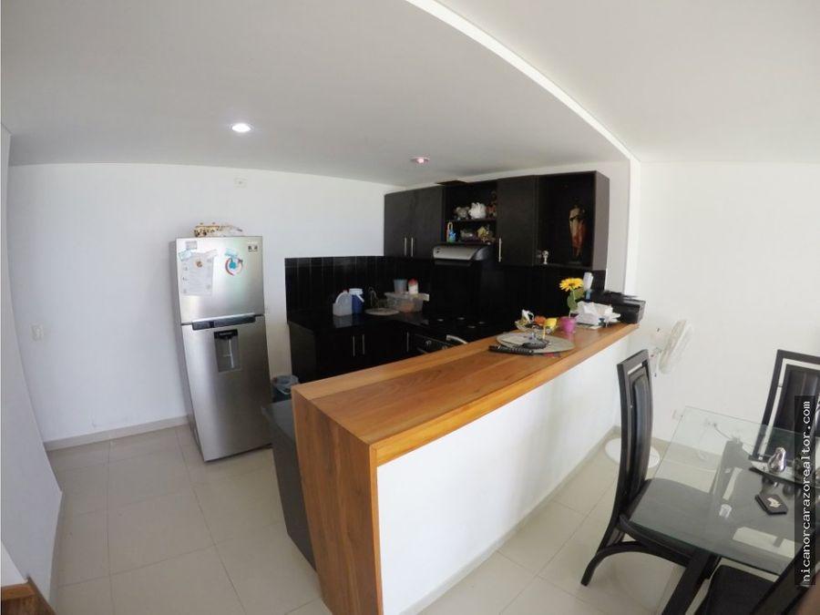venta apartamento duplex de 2 habitaciones en marbella cartagena