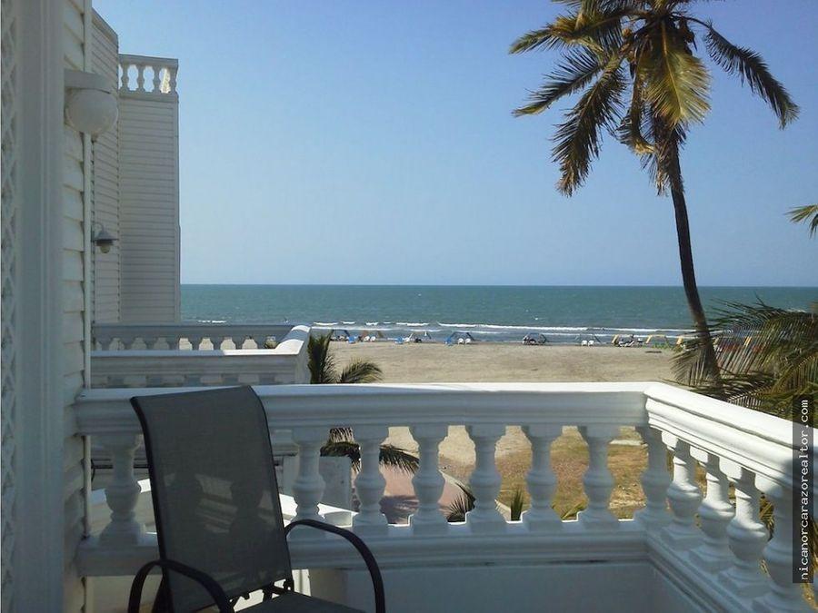 vendemos casa de playa en la boquilla cartagena