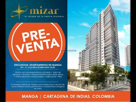 proyecto edificio mizar manga cartagena de indias