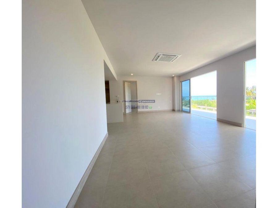 vendemos apartamento 3 alcobas con vista al mar en morros io cartagena