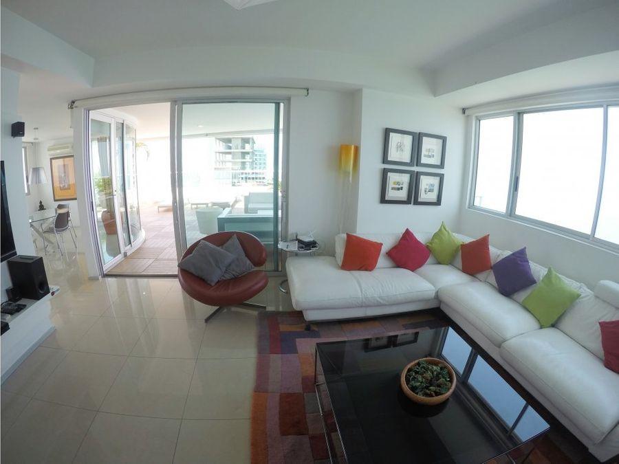 venta apartamento en edificio palmetto en bocagrande cartagena
