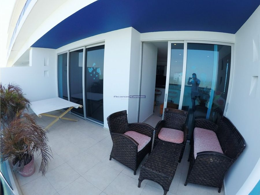 vendemos apartamento frente al mar en el cabrero
