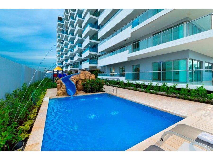 venta apartamento 1 alcoba beach club condominio en crespo cartagena