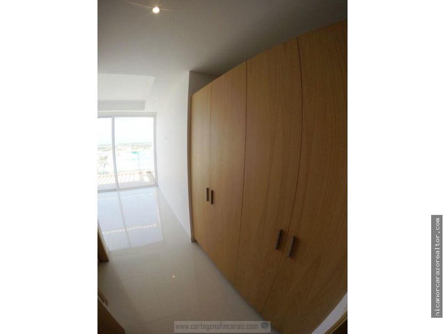 vendemos apartamento penthouse 3 alcobas barceloneta en cartagena