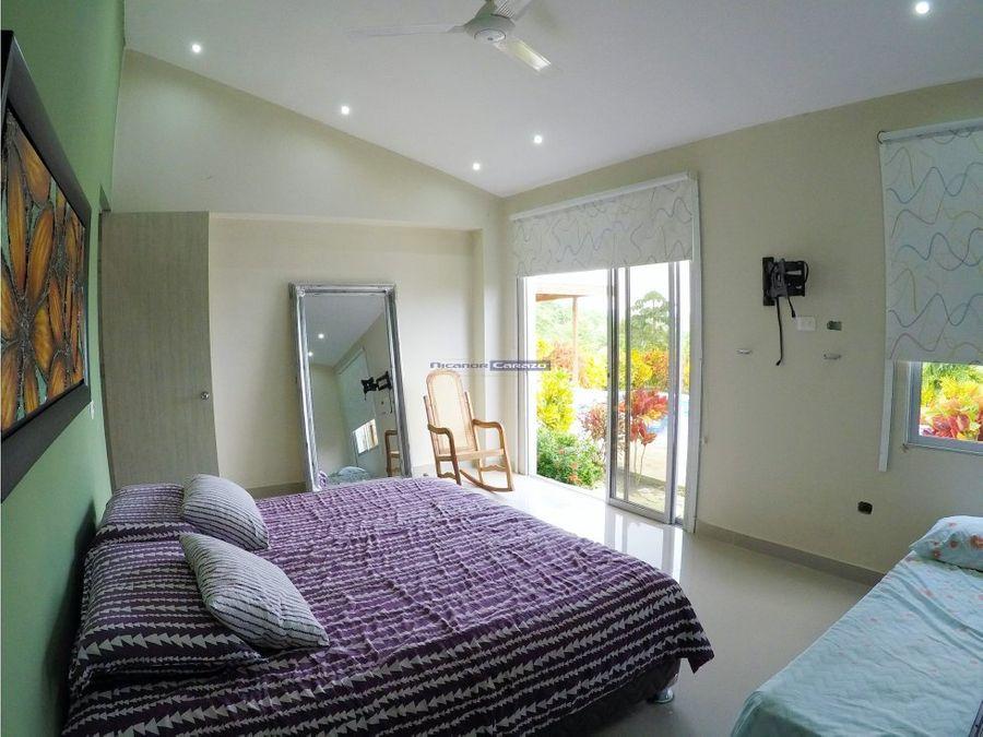 venta de casa campestre en condominio la hacienda