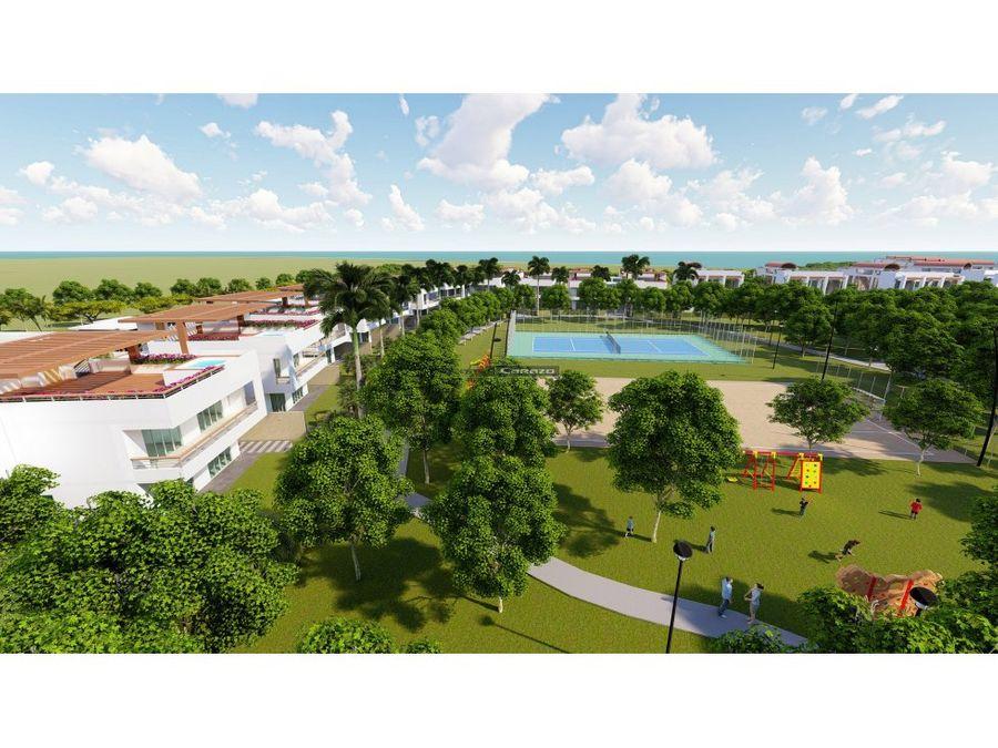 bluemare town house isla de baru cartagena