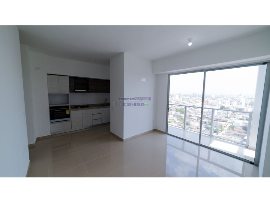 venta de apartamento dos habitaciones en edificio 54 park cartagena