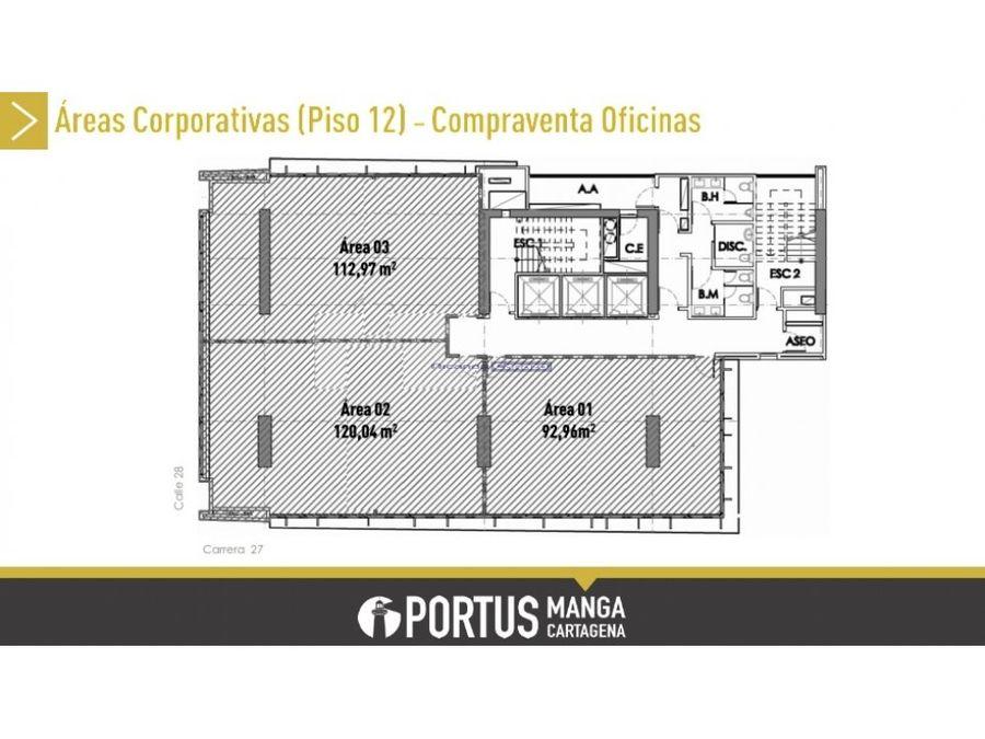 portus centro empresarial en manga cartagena