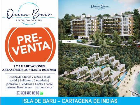 ocean baru condominio beach spa cartagena de indias