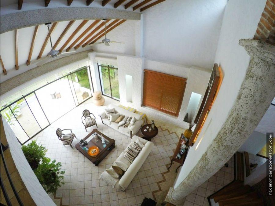 venta casa campestre en urb los campanos en turbaco cartagena