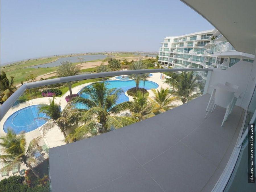 vendemos apto en karibana beach golf cartagena