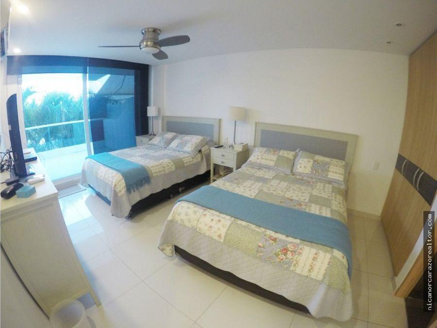 venta apartamento 2 alcobas karibana beach golf