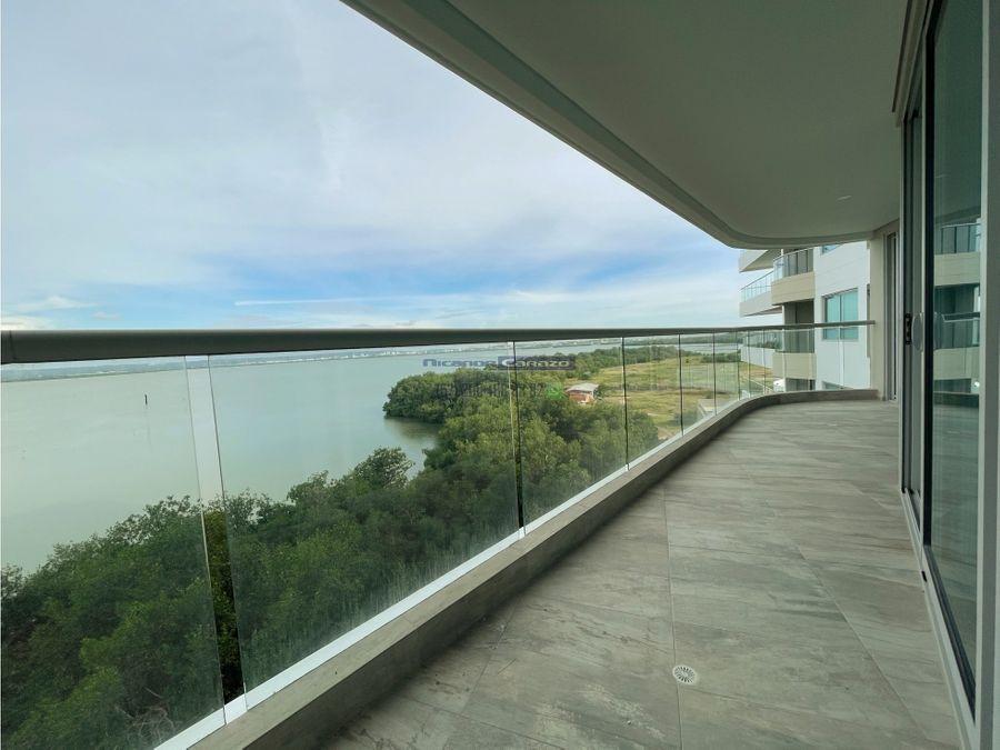 venta apartamento frente a cienaga de la virgen cielo mar cartagena