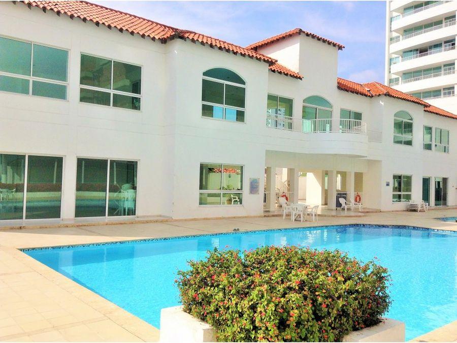 venta apartamento en condominio vista bahia en manga cartagena