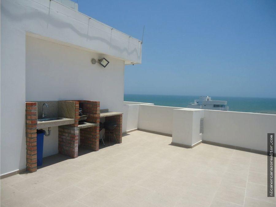 vendemos apto de 3 alcobas con vista al mar caribe