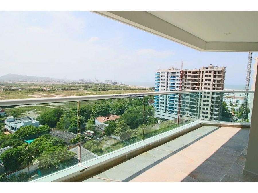 venta apartamento 3 alcobas en cielo mar cartagena