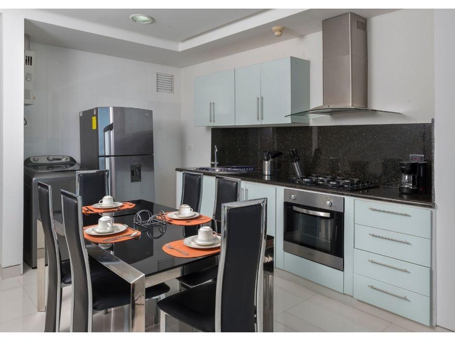 venta apartamento 1 alcoba duplex en castillogrande en cartagena
