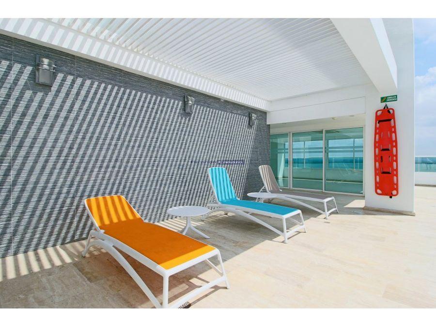 venta apartamento 3 alcobas en edificio aquanova cielo mar cartagena