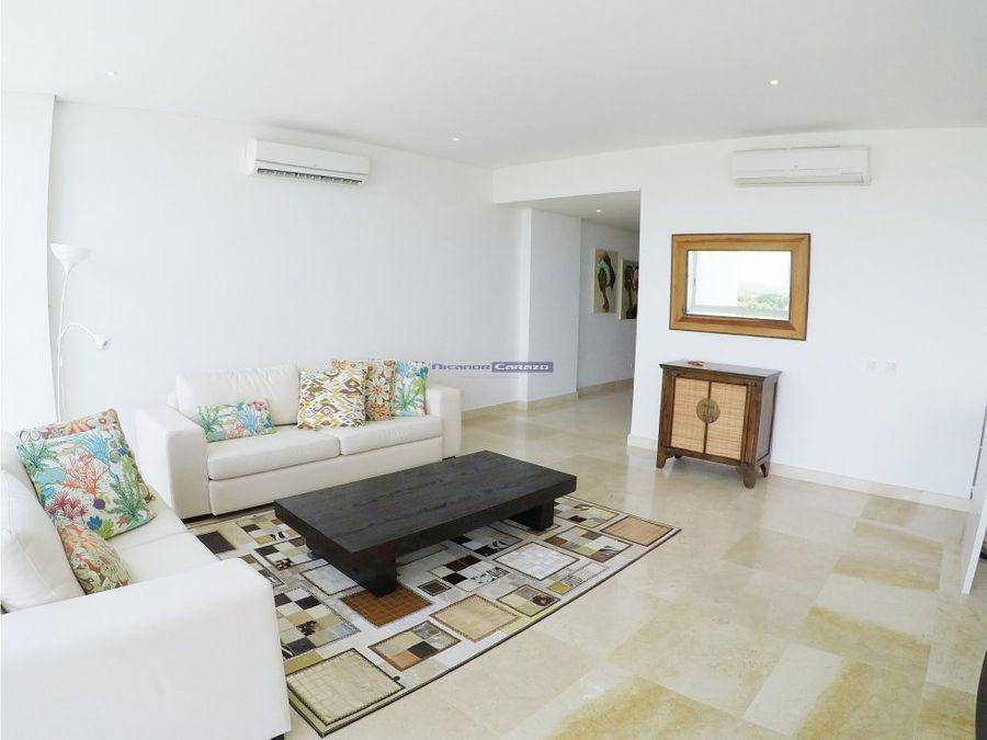venta apartamento 3 alcobas en karibana cartagena