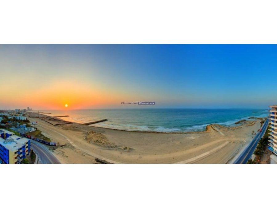 vendemos apto de 3 alcobas vista al mar cartagena