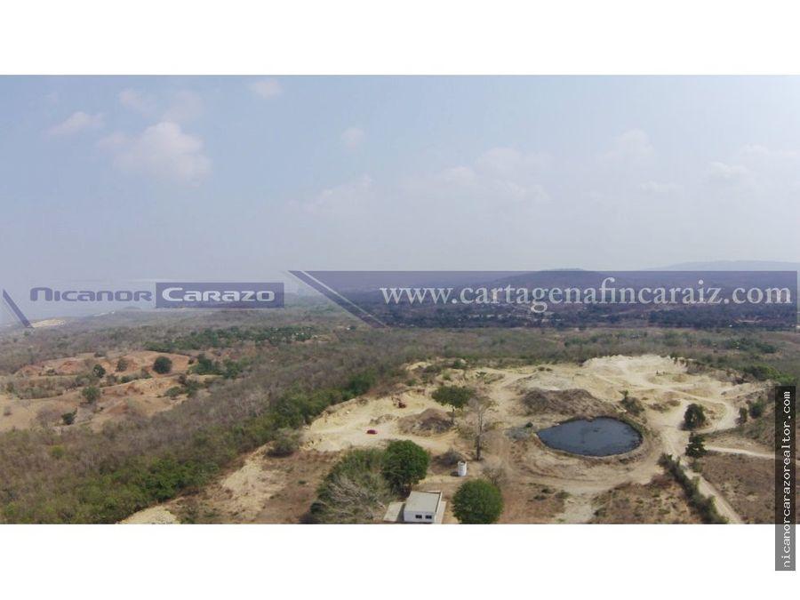 venta de lote zona industrial de cartagena mamonal