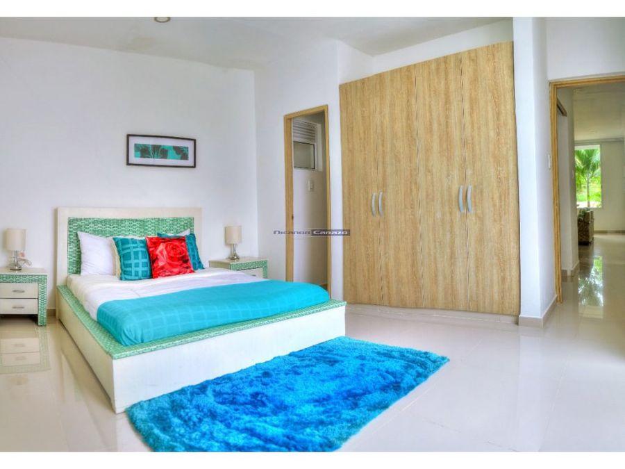 apartamento duplex en condominio volaremare ctg