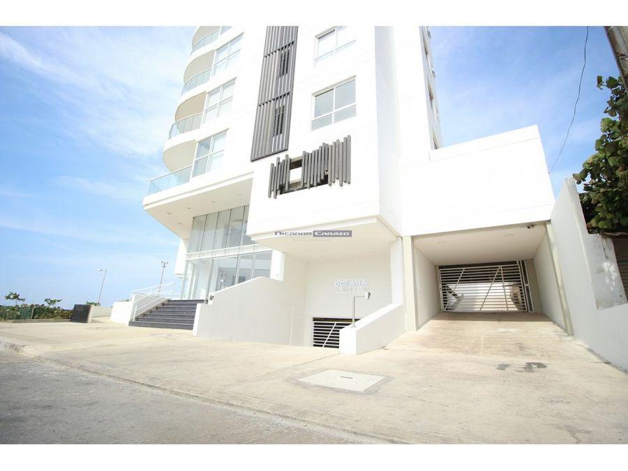 venta apartamento una habitacion edificio oceana en crespo cartagena