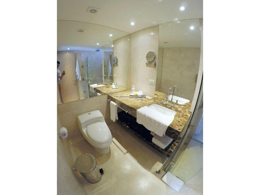 vendemos suite hotelera en radisson cartagena