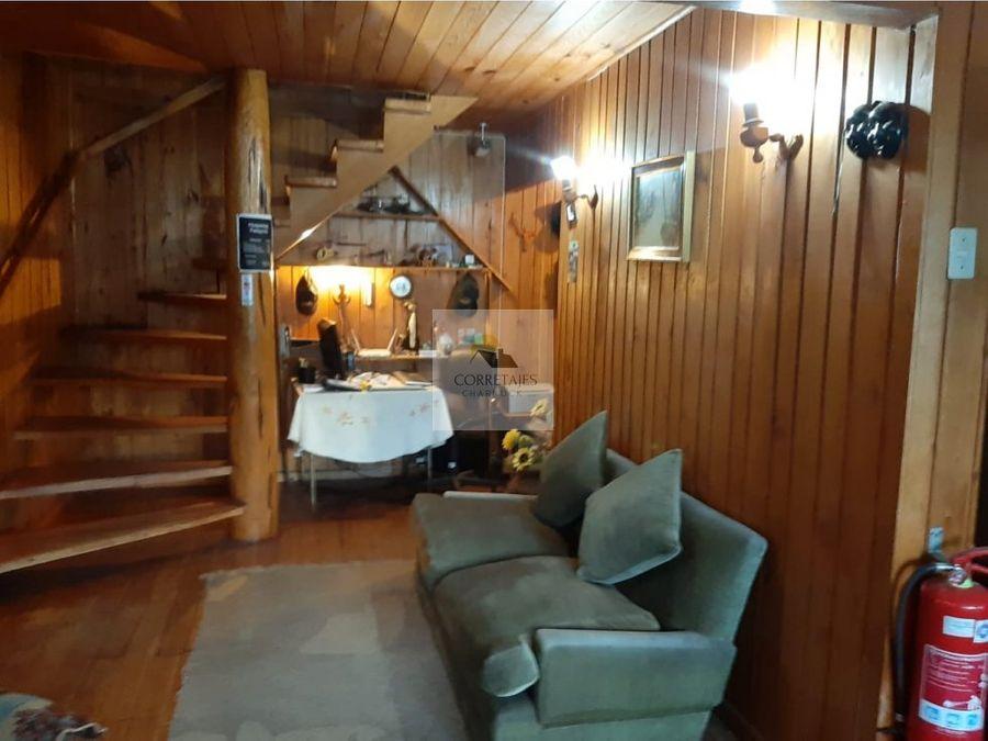 en venta hotel casa y cabana en licanray a 150 metros de la playa