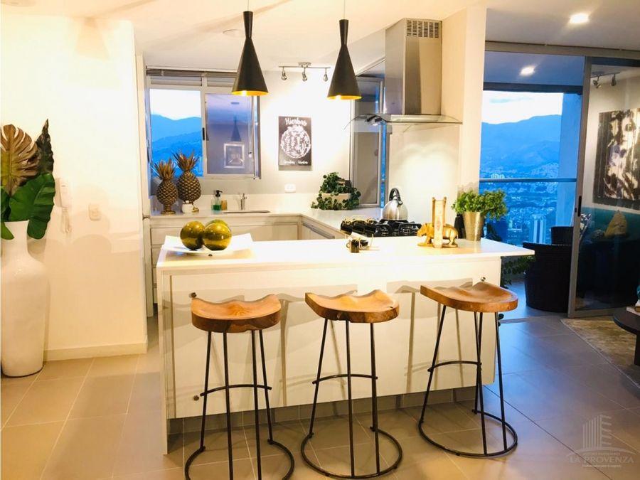 venta de hermoso apartamento en el poblado