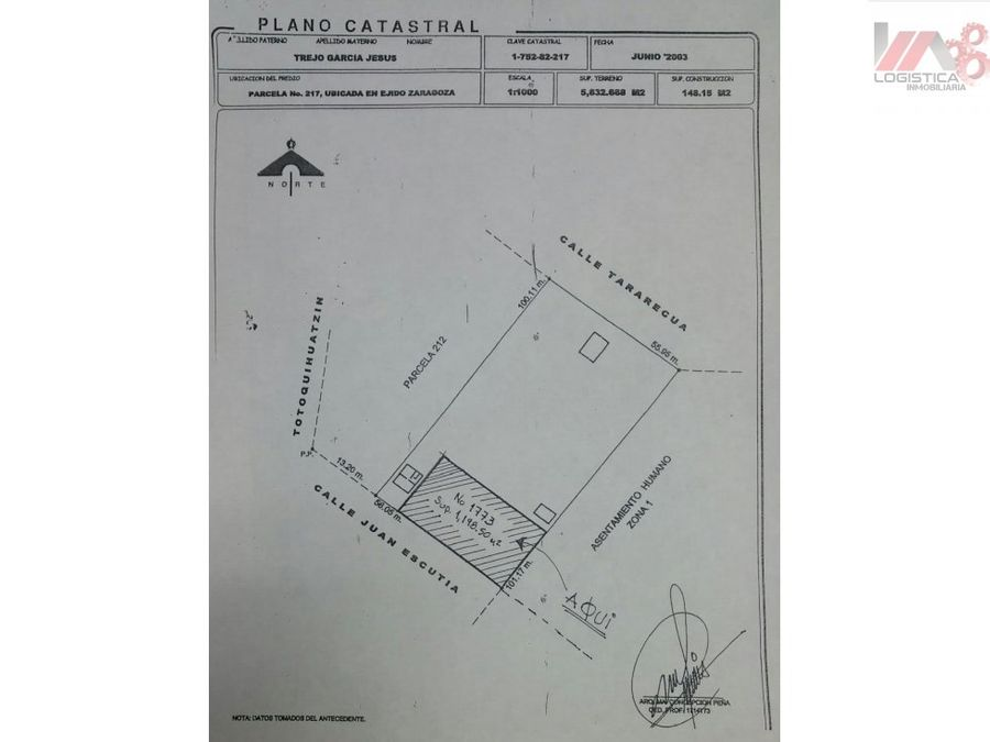 venta de amplio terreno en col ejido zaragoza